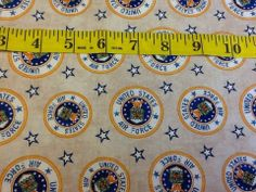 Military Salute United States Air Force Fabrics By RJR Fabrics