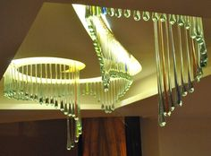Kitengela Hot Glass provides bespoke lighting solutions from a single embedded LED (light-emitting diode) in a paperweight to chandeliers. African Accessories, Light Emitting Diode, Interior Decorating, Interior Design, African Design, Lighting Solutions, Garden Art, Beams, Chandelier