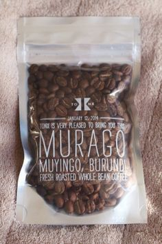 Evolution of a Foodie: Tonx Murago Sample 2oz. Review and Free Coffee Sample Code