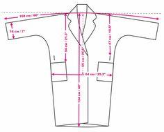 Long Demi-season Oversized Coat - Melange Gray Coat - Autumn wWoolen Clothing