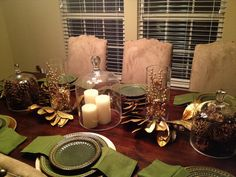 #WINTER TABLESCAPE