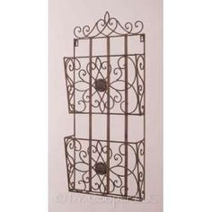 astrid wrought iron wall wine rack towel on PopScreen Bath Towel Racks, Towel Holder, Wrought Iron Wall Decor, Wine Rack Wall, Home And Garden, Home Decor, Towel Racks, Decoration Home, Room Decor