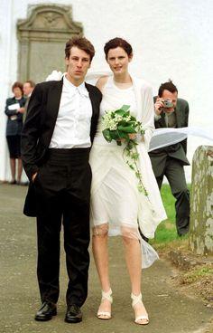 Stella Tennant and David Lasnet