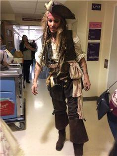 12-9-2016 Johnny Depp, Childrens Hospital, London #Tim Burton news