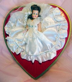 Vintage 1950s Whitmans Valentine candy box with by jupiterdesigns