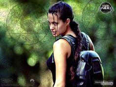 Lara Croft: Tomb Raider wallpaper with Angelina Jolie