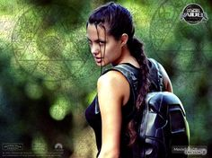 Lara Croft: Tomb Raider wallpaper with Angelina Jolie