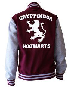 Gryffindor Hogwarts unisex varsity jacket - Harry Potter