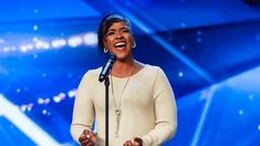 With her tender performance of Sam Smith's 'Lay Me Down', Leanne Mya moved us all to tears. Sam Smith, Will Smith, Britain Got Talent, Beautiful Women, Youtube, Color, Art, Fashion, Art Background