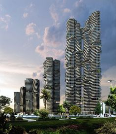 Infinity towers by Sanjay Puri Architects