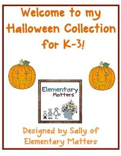 Halloween Packet - A combination of reading, writing, and math activities with a Halloween theme $
