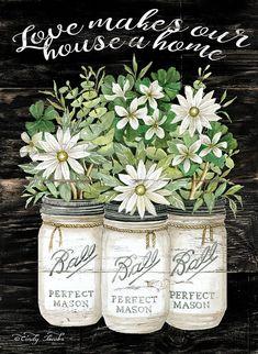 love makes our house a home-Cindy Jacobs Sliding Door Design, Jar Art, Jar Centerpieces, Rose Wallpaper, Decoupage Paper, Jar Gifts, Chalkboard Art, Stencil Designs, Alphabet Art
