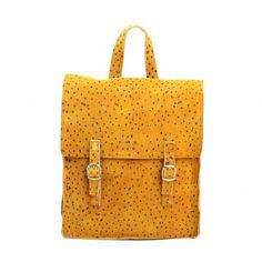 little girl's schoolbag