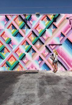Maya Hayuk mural    smitten studio // sarah sherman samuel » Blog Archive » smitten travels: wynwood art district – miami
