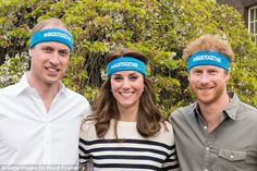 The Duke and Duchess of Cambridge and Prince Harry are spearheading a new campaign called ...