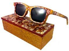 Made in America new eyewear designer, I recently ran across. The Eyewear line is called Alvaro Planchart,