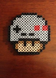 Funky Mushroom Collection - Nintendo Controller Mushroom via eb.perler. Click on the image to see more!
