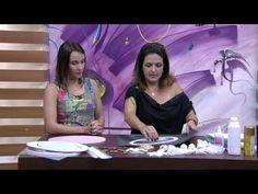 Mulher.com - 08/10/2015 - Quadro para porta de maternidade - Marisa Magalhães PT1 - YouTube