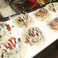 Now introducing our starting lineup Street Tacos, Fish Tacos, Coconut Flakes, Spices, Lineup, Food, Spice, Essen, Meals