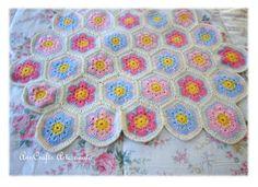AnnCrafts Artesanato - Baby Spring Blanket