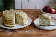 Crêpe cake looks and tastes fancy -- but it's easier to make than you think.