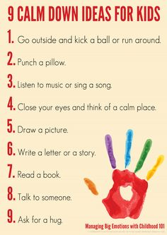 9 calm down ideas for a kid when they need to take a breath. #kids #calmdown #tantrums