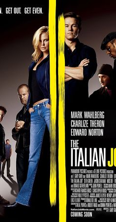 Directed by F. Gary Gray. With Donald Sutherland, Mark Wahlberg, Edward Norton, Charlize Theron. After being betrayed and left for dead in Italy, Charlie Croker and his team plan an elaborate gold heist against their former ally.