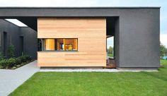 Elewacja z desek świerkowych Garage Doors, Outdoor Decor, Home Decor, Houses, Homes, Decoration Home, Room Decor, House, Home