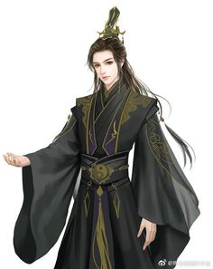 Chinese Men's Clothing, Thunderbolt Fantasy, Champagne Evening Gown, Male Cartoon Characters, Anime Prince, C Anime, Fantasy Art Men, Japanese Costume, Female Fighter