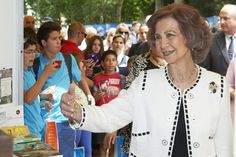 Queen Sofia of Spain opened the 74th Madrid Book Fair on Friday, May 29th.