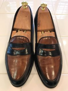Bragano by Cole Haan Italian Two Tone Loafer  Mens 9.5 M #ColeHaanBragano #LoafersSlipOns