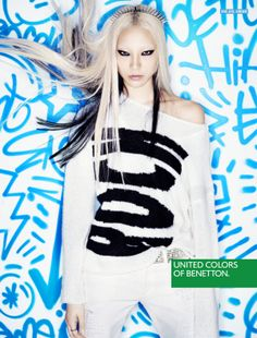 United Colors of Benetton AW13 Campaign - Soo Joo Park