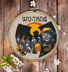 Wu-Tang Clan Cross Stitch Pattern for Instant Download 070
