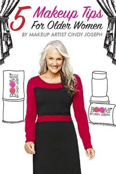 5 makeup tips for baby boomer women by 64 year old super model Cindy Joseph! http://www.boombycindyjoseph.com/pages/5-makeup-tips-for-baby-boomers-by-cindy-joseph?utm_source=pinterest&utm_medium=ads&utm_campaign=new-image: