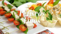 Petiscos Finos + Maionese de Batata e Cenoura (Especial de Casamento)