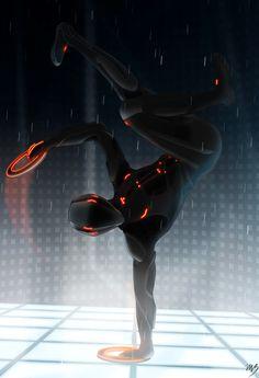 Rinzler Breakdance by ~Ccarcia3 on deviantART