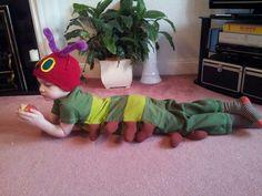 Hungry caterpillar costume!