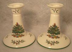 Spode Christmas Tree Cookie Jar I love Holly and I love the shape ...
