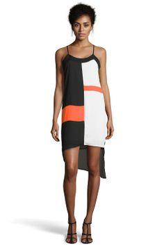 Boutique Joanna Stripped Colour Block Slip Dress at boohoo.com