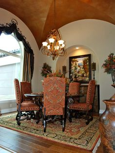 Breakfast Nook With Round Table Parade Of Homes San Antonio