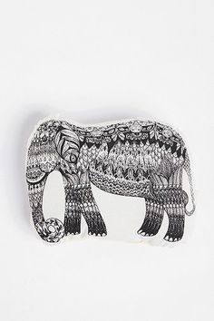This style is an interesting riff on the Aboriginal art of Australia....might be a developing taste for such things.  I can see one of these animals on the window seat!