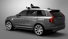 Volvo, Uber form autonomous-vehicle partnership