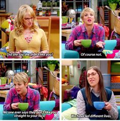 """""""We have led different lives"""" - Amy, Bernadette and Penny #TheBigBangTheory"""