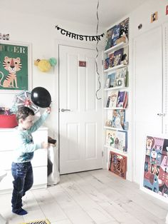 f&f tiny tours: christian's room