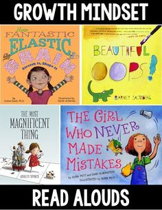 Growth Mindset Read Alouds #Books
