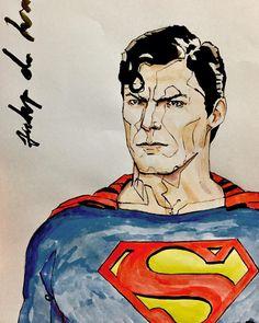 Em homenagem aos 65 anos de Christopher Reeve o nosso editor @delimafelipe_ fez uma #arte do #Superman interpretado pelo ator. O que acharam?