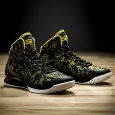 Stephen Curry's new signature shoe, the Under Armour Curry One. Coming soon.