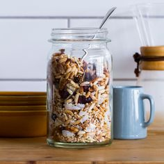 This light and nutty gluten-free muesli takes all of about 15 minutes to make and is much, much cheaper than buying gluten-free muesli!