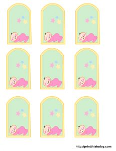 Boy baby shower free printables free baby shower printables you can get cute free printable baby shower favor tags on this page for girl or boy baby shower you can decorate your party favors with these cute free negle Images