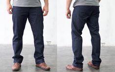 Die Bio-Jeans von Manomama werden erst nach der Bestellung gefertigt